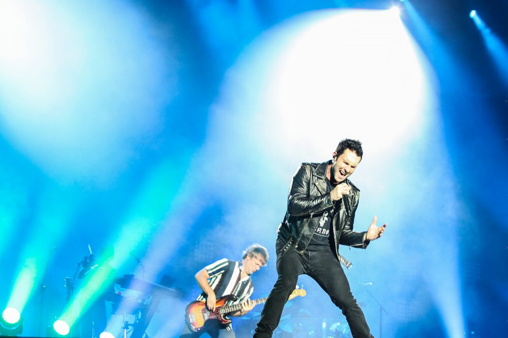 Maroon 5 no Palco Mundo do Rock in Rio